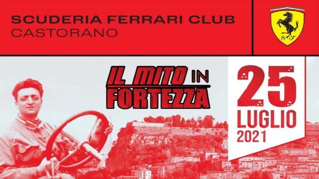 Il mito in Fortezza: la Ferrari unisce i borghi di Castorano e Civitella del Tronto