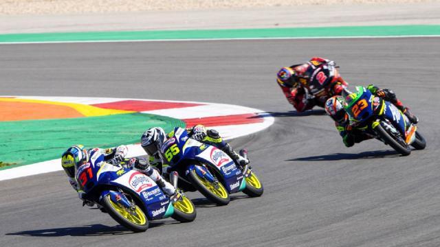 Moto3, Fenati chiude al settimo posto il Gran Premio di Portogallo. Vince ancora Acosta