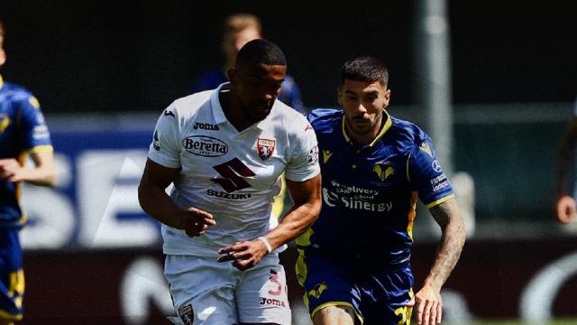 Verona-Torino 1-1, highlights