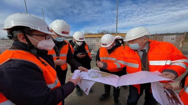 Regione Marche, sopralluogo a nuovo ospedale di Fermo. Ancona, progetto che utilizza intelligenza artificiale