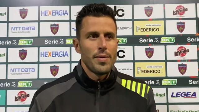"""Cosenza-Frosinone 1-1, le voci di Zaffaroni e Grosso (""""Occasione persa ma vediamo bicchiere mezzo pieno"""")"""