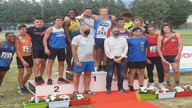 Atletica leggera, Fabriano celebra i campioni italiani juniores e promesse di prove multiple