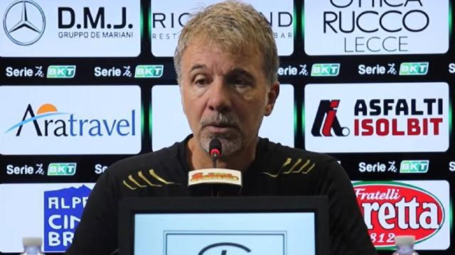 """Lecce-Perugia 0-0: voci Baroni (""""Primo tempo stratosferico""""), Alvini (""""Potevamo sbagliare meno"""") e Lucioni"""