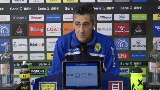 """Chievo, Aglietti pensa al Vicenza e poi tornerà ad Ascoli: """"Canotto rientrato. Attacco? Magari mischierò carte..."""""""