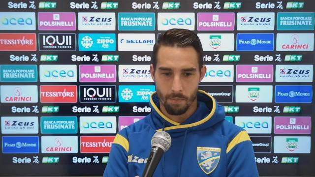 Frosinone-Ascoli 1-0, la voce di Salvi post gara