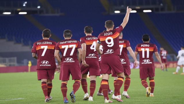 Roma-Benevento 5-2, highlights