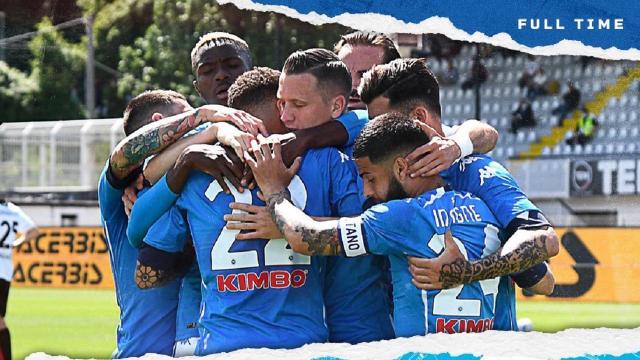 Spezia-Napoli 1-4, highlights