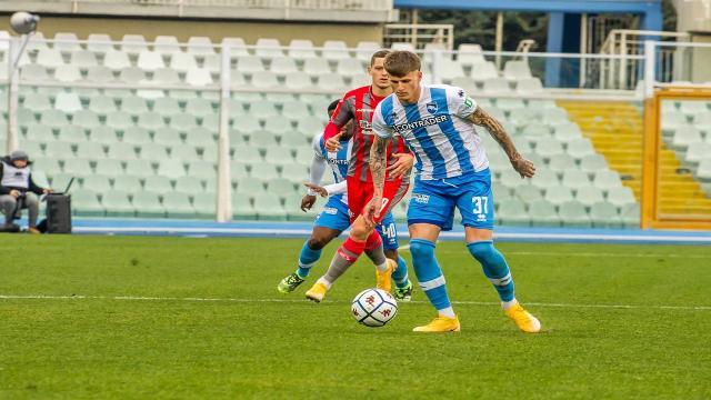 Pescara-Cremonese 0-2, ottimo esordio di Pecchia che sbanca l'Adriatico e sorpassa il Delfino