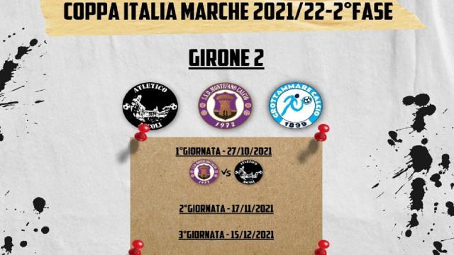 Coppa Italia Marche: l'Atletico Ascoli sfida Montefano e Grottammare nel 2° turno
