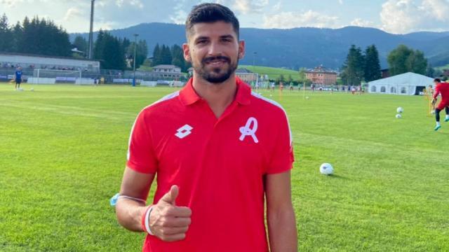 Ascoli Calcio, primo allenamento ad Asiago per l'ex Brosco dopo il biennale firmato col Vicenza