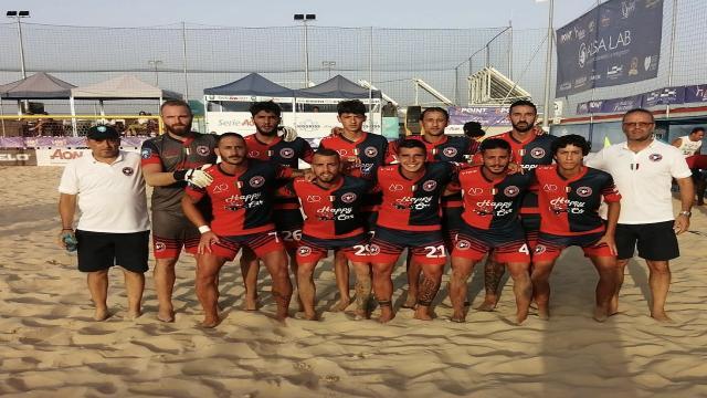 Beach soccer, la Samb perde 5-3 il recupero di campionato con il Catania