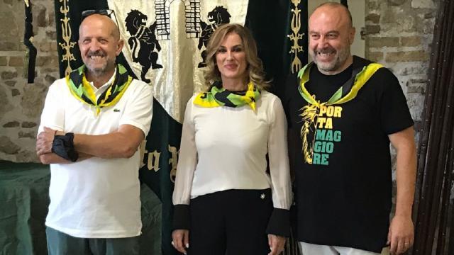 Quintana di Ascoli, la splendida Barbara Mannocchi sarà la dama di Porta Maggiore nella Giostra della Tradizione
