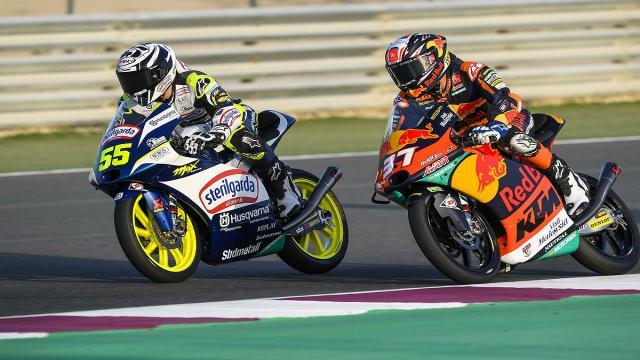 Moto3, Fenati ottiene un decimo posto nel Gran Premio di Doha partendo dalla pit-lane