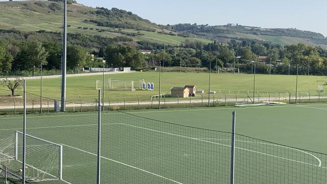 Ascoli Calcio: forza e tattica al mattino, partita nel pomeriggio al Picchio Village