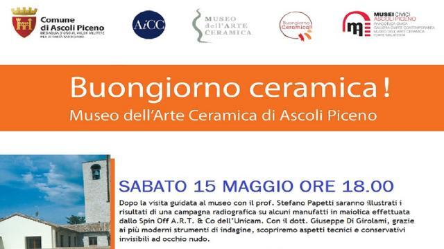 Ascoli Piceno, weekend di eventi al Museo dell'Arte della Ceramica