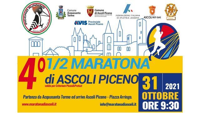 La Mezza Maratona di Ascoli Piceno si fa ''baby'' con le gare dei piccoli