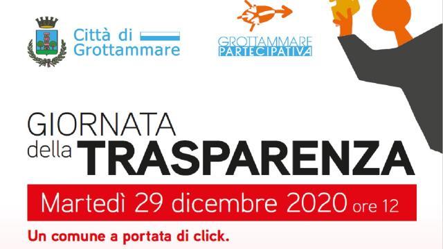 Grotttammare: Giornata della Trasparenza, appuntamento online il 29 Dicembre