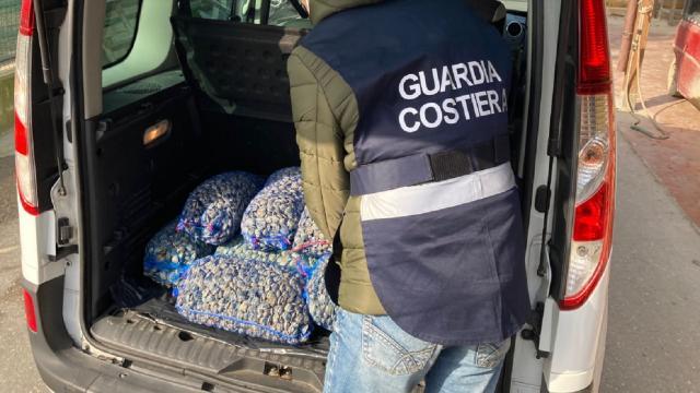 Cupra Marittima, sanzionato operatore del settore ittico e sequestrati 130 chili di vongole