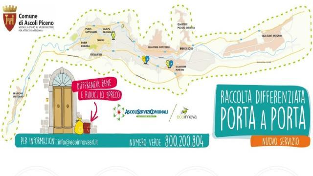 Ascoli Piceno, dai primi di Febbraio disponibili i nuovi kit per la raccolta differenziata