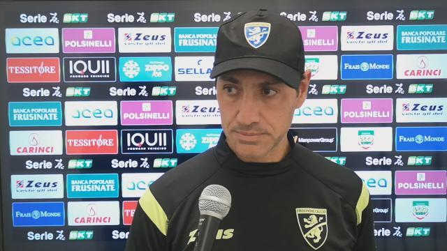 Frosinone-Reggina 1-1, la voce di Nesta post gara
