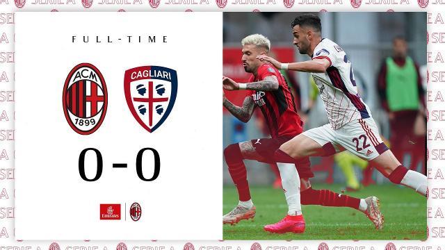 Milan-Cagliari 0-0, highlights