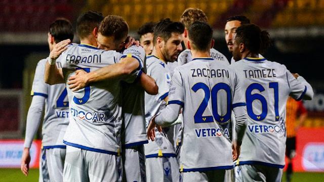 Benevento-Verona 0-3, highlights