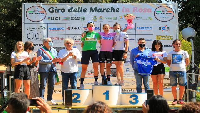 Giro delle Marche in Rosa: Silvia Magri e Giulia Giuliani protagoniste nell'epilogo di Offida