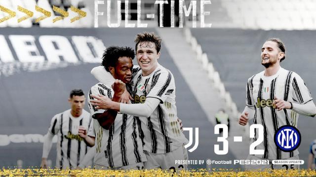 Juventus-Inter 3-2, highlights