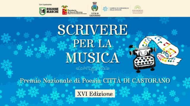Castorano: ''Scrivere per la Musica'', in onda il 30 Dicembre in streaming