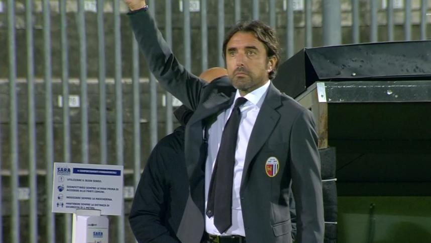 """Ascoli Calcio, la voce di Bertotto: """"Ho una rosa importante. A Salerno cambierò qualcosa"""""""