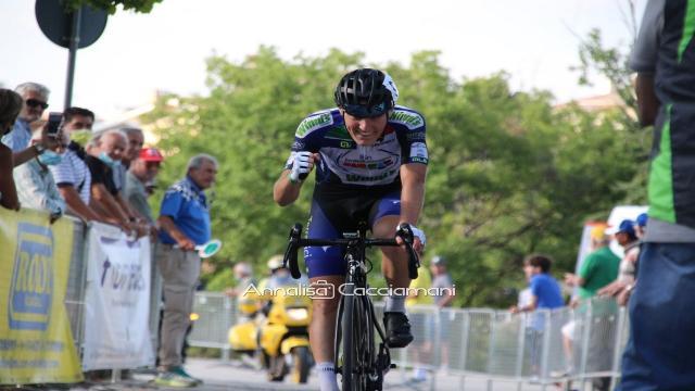Ciclismo, show di Davide Dapporto al 36° Gran Premio Città di Montegranaro