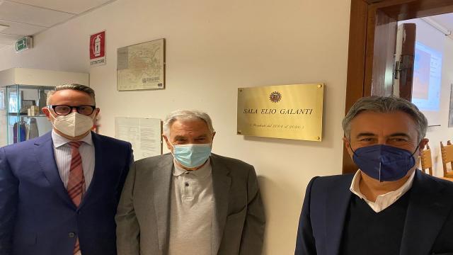 Automobile Club Ascoli Piceno-Fermo, Sala del Consiglio Direttivo intitolata ad Elio Galanti