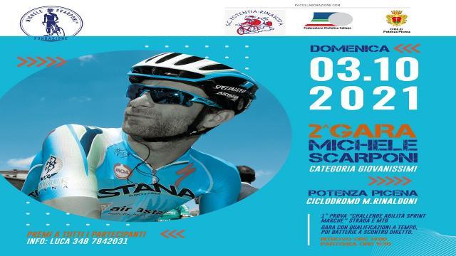 Ciclismo: Potenza Picena, tutti i dettagli della seconda gara dedicata a Michele Scarponi
