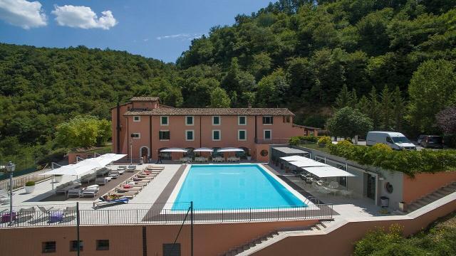 Ascoli Calcio, a Cascia seduta di scarico in piscina e ripetute aerobiche