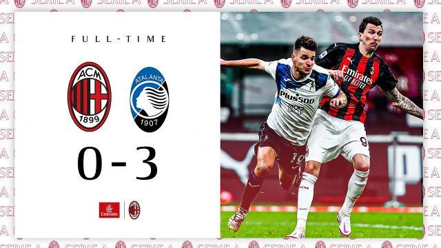 Milan-Atalanta 0-3, highlights