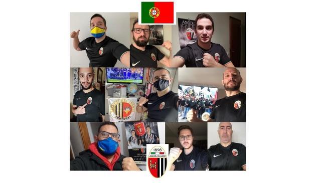 Ascoli Calcio, nuovi tifosi dal Portogallo si avvicinano al club bianconero
