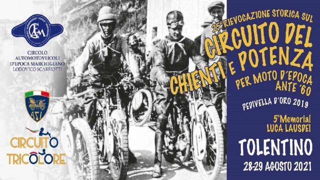 Caem Scarfiotti, 25ª Rievocazione del Circuito Chienti e Potenza inserita nel Circuito Tricolore Asi